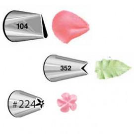 tip set #104  #352  #224 - Wilton
