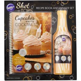 shot tops recepten boek - 12 shot infusers