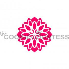 floral medallion - stencil
