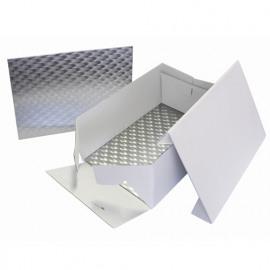 cake box - 38,10 x 27,80cm - rechthoekig cake board - PME