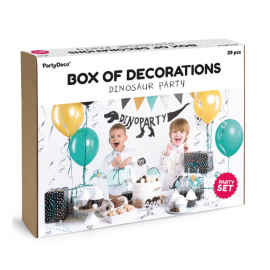dino party decoration set