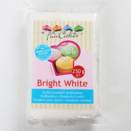 bright white - rolfondant wit - FunCakes