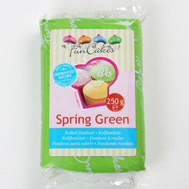 spring green -  rolfondant groen - FunCakes