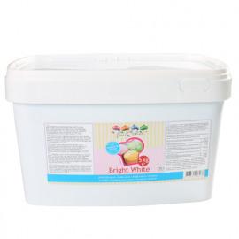 Bright white - rolfondant wit - 5kg emmer - FunCakes