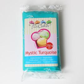 mystic turqouise - rolfondant turquoise  - FunCakes