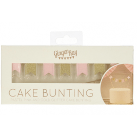 Cake bunting topper - Pastel Perfection - Ginger Ray