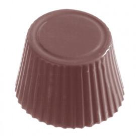 cuvette - chocolate world plycarbonaat  - chocolade vorm