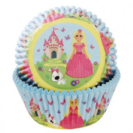prinses - baking cups - HOM