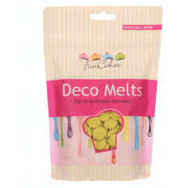 deco melts - lime green