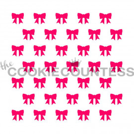 little bows - stencils