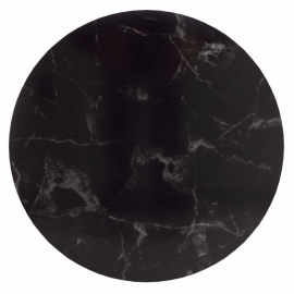 marble black cake board 30cm - rond