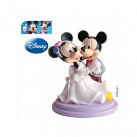 Dansende Mickey & Minnie bruidspaar