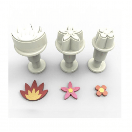 flower mix - mini plungers