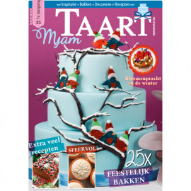 MjamTaart! Taartdecoratie Magazine winter 2015