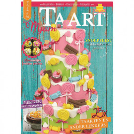MjamTaart! Taartdecoratie Magazine voorjaar 2016