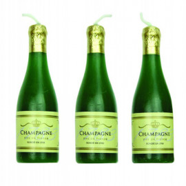 champagne candles set