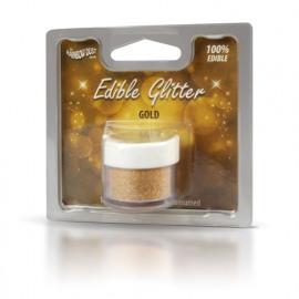 gold - edible glitter - RD