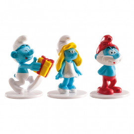 Smurfen - Cake toppers