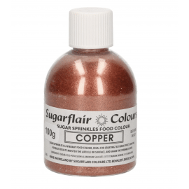 sugar sprinkles 'copper '