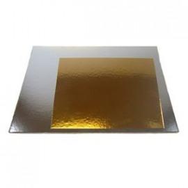 taartkarton zwart - vierkant 22 x 22cm