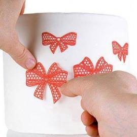 ribbon - silicone mat - Silikomart Wonder cakes