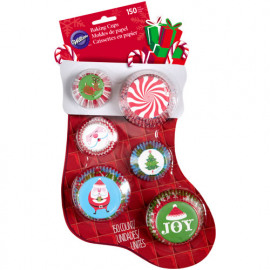 stocking - mini & standaard baking cups - Wilton