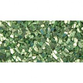 Crushed Glass Glitter 1.41oz Fresh Green