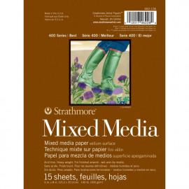 Mixed Media Vellum Paper Pad 6