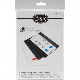 Sizzix Texture Boutique Embossing Pads