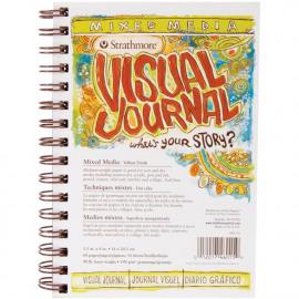 Visual Journal Mixed Media Vellum 5.5