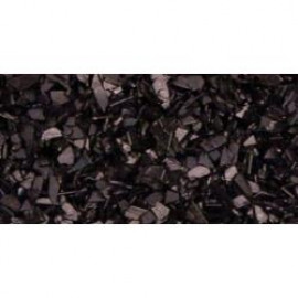 Crushed Glass Glitter 1.14oz Black