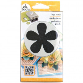 Large punch retro flower 2 inch