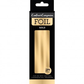 Crafter's Companion Foil 2m Roll Gold