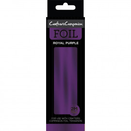 Crafter's Companion Foil 2m Roll Royal Purple