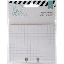 Heidi Swapp Memorydex Cardstock Cards