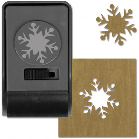Large Paper Punch By Tim Holtz Snowflake #2