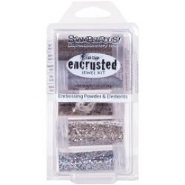 Encrusted Juwel Silver Kit