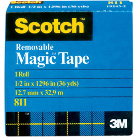 Scotch Removable Tape .50