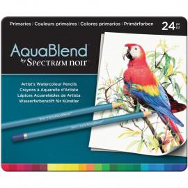AquaBlend Pencils 24/Pkg Primaries