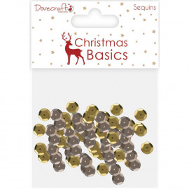 CHRISTMAS DISQUES SEQUINS