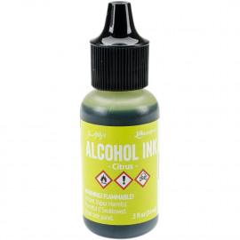 Alcohol ink citrus