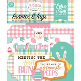 Easter Wishes Cardstock Die-Cuts 33/Pkg