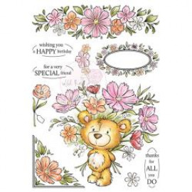 Wild Rose Studio Ltd. Clear Stamp 6
