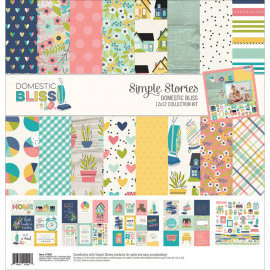 Domestic bliss 12x12 collection kit