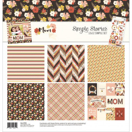Mom 12 x 12 simple set