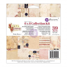 Love Clippings collection kit 6x6