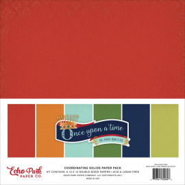 Once upon a time coordinating solids paper pack