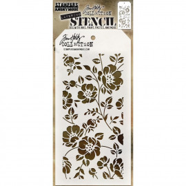 Tim Holtz collection - Layering Stencil - Floral
