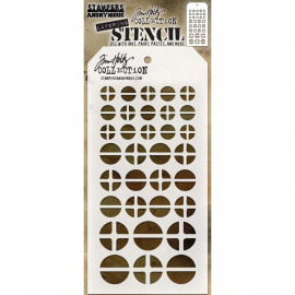 Tim Holtz collection - Screwed layering stencil