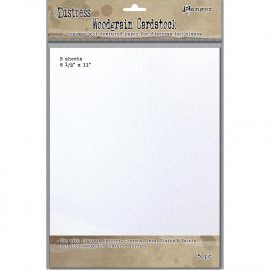 Distress Woodgrain Paper 5 Sheets 8.5